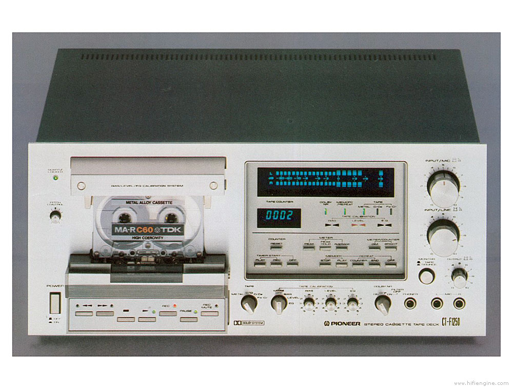 Pioneer Ct F Cassette Deck