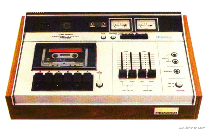 Pioneer ct 5151 manual stereo cassette tape deck for Balcony noise reduction