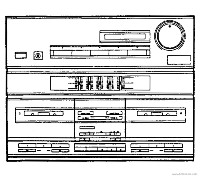 Pioneer Dc Z72 Manual Stereo Double Cassette Deck