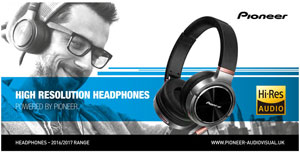 Pioneer High Resolution Headphones
