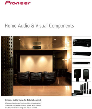 Pioneer Home Audio and Visual Components