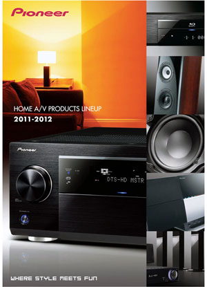 Pioneer Home AV Products Line Up