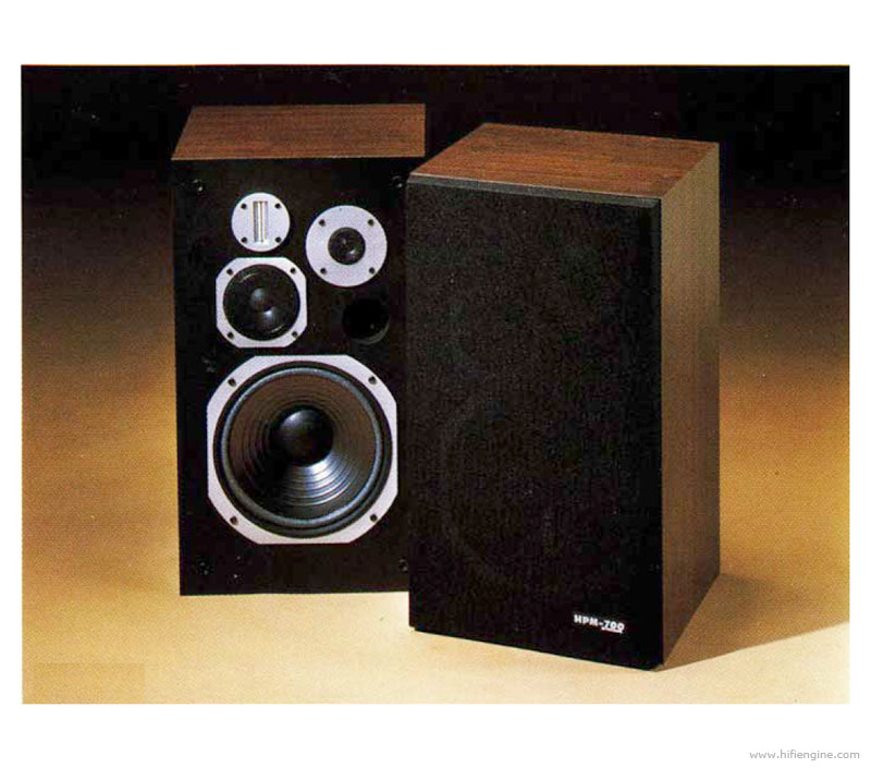 pioneer hpm 700 manual 4 way 4 speaker bass reflex. Black Bedroom Furniture Sets. Home Design Ideas