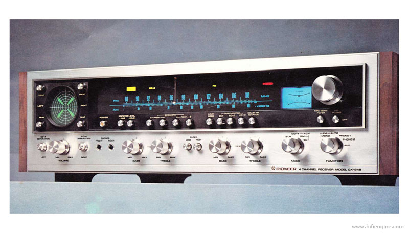 pioneer qx-949 - manual  fm four channel receiver
