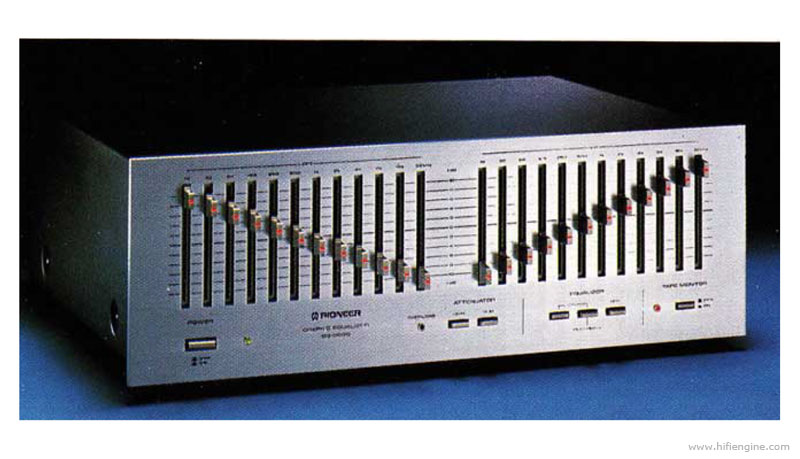 Bose Stereo >> Pioneer SG-9800 - Manual - Stereo Graphic Equaliser - HiFi Engine