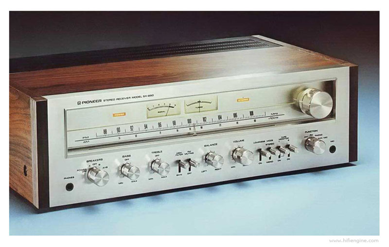 Pioneer SX-650 - Manual - Stereo AM/FM Receiver - HiFi Engine