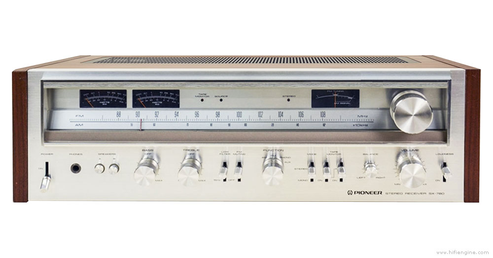 Pioneer SX-780 AM/FM Stereo Receiver Manual | HiFi Engine