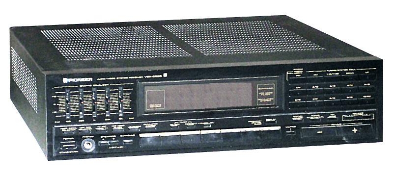 Pioneer Vsx-3000 - Manual - Audio Video Receiver