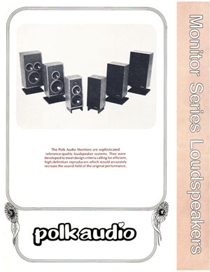 Polk Audio Monitor Series Loudspeakers