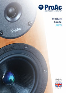 Proac Product Guide 2009