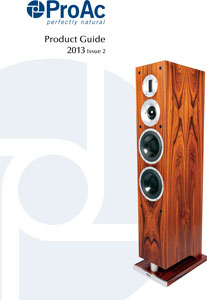 Proac Product Guide 2013