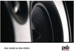 PSB Speakers Real Sound For Real People