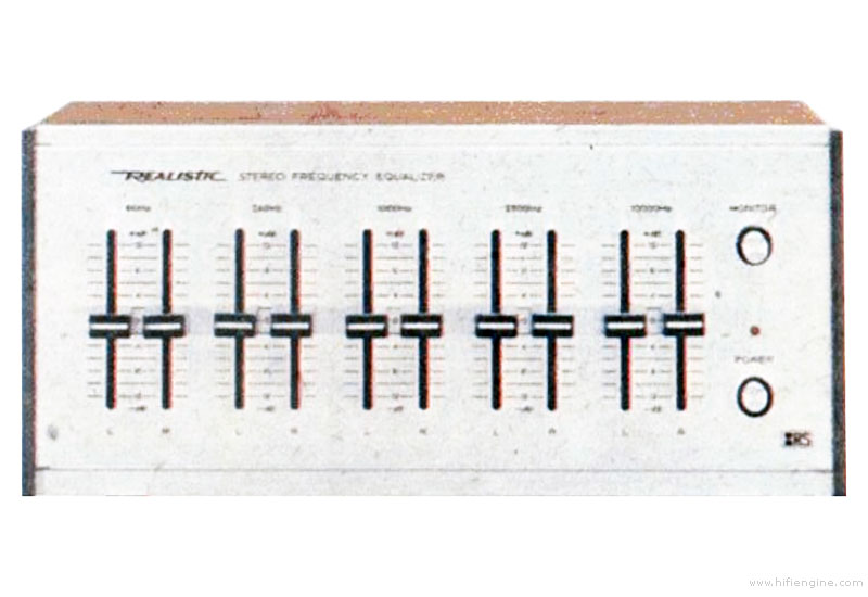 Realistic 31 1987 Manual Stereo Frequency Equalizer