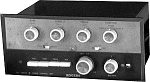 Rogers RD Junior Control Unit