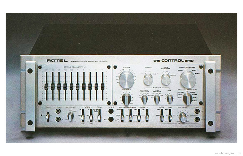 Rotel RC-5000 Stereo Control Amplifier Manual | HiFi Engine