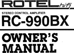Rotel RC-990