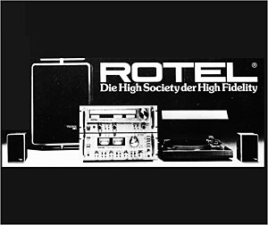 Rotel The High Society of High Fidelity