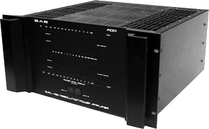 Sae A1001 Manual Dual High Resolution Power Amplifier