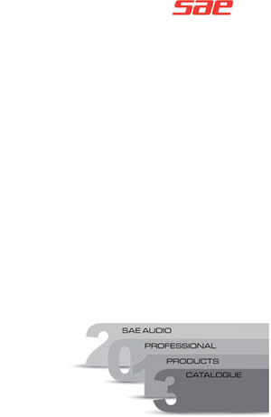 SAE Audio Professional Products