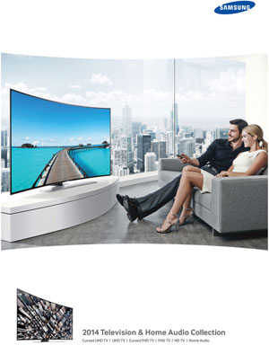 Samsung TV and Home Audio Collection