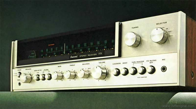 Sansui 771 - Manual - AM/FM Stereo Receiver - HiFi Engine