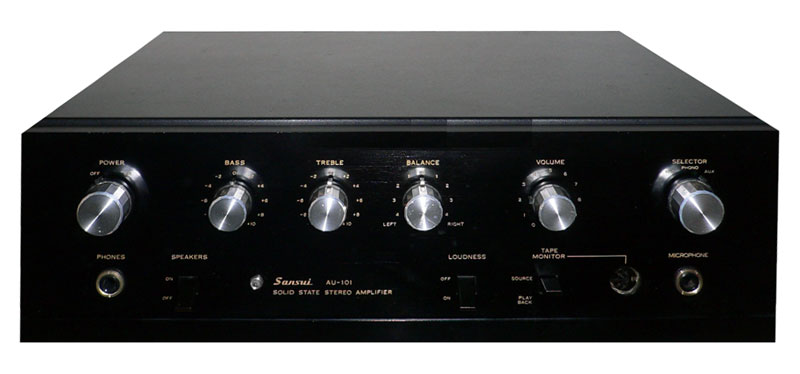 Sansui Au-101 - Manual - Solid State Stereo Amplifier