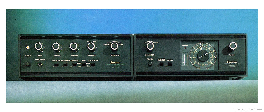 Sansui TU 555 Manual Solid State Stereophonic Tuner