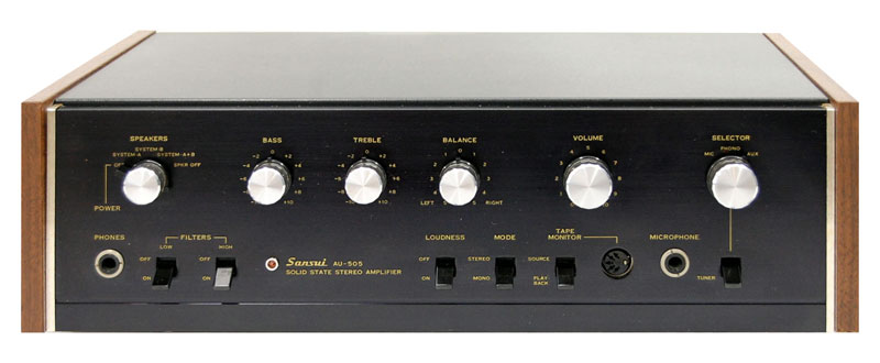 Sansui Au 505 Manual Solid State Integrated Amplifier