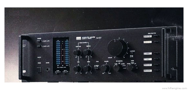 Sansui AU-D7 - Manual - Integrated Stereo Amplifier - HiFi Engine