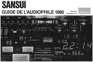 Sansui Audiophile Guide
