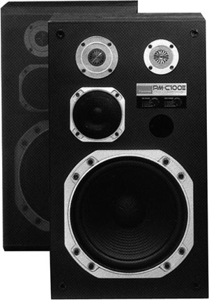 Sansui PM-C100 - Manual - Four Way Speaker System - HiFi Engine