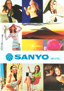 Sanyo Products 1971-1972