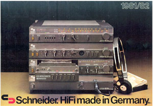 Schneider HiFi Made in Germany