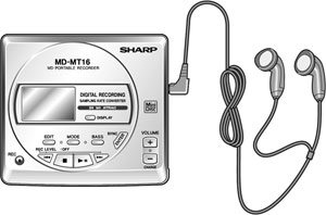 Sharp MD-MT16