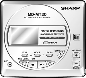 Sharp MD-MT20