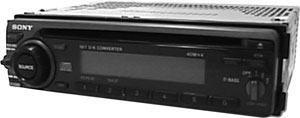 Sony Cdx 4180 Am Fm Compact Disc Player