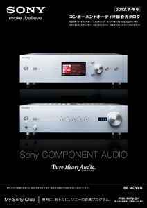Sony Component Audio 2013