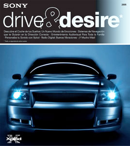 Sony Drive and Desire 2005