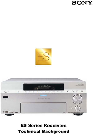 Sony ES Series Receivers