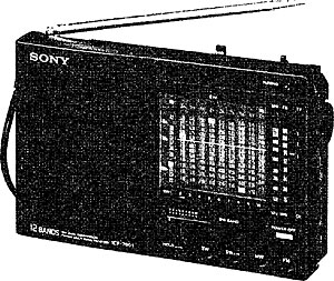 Sony icf-7600d service manual