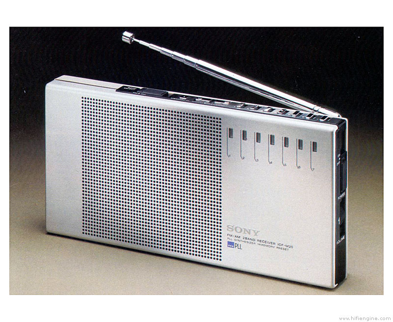 Sony icf m20 manual portable radio hifi engine sony icf m20w portable radio sciox Image collections
