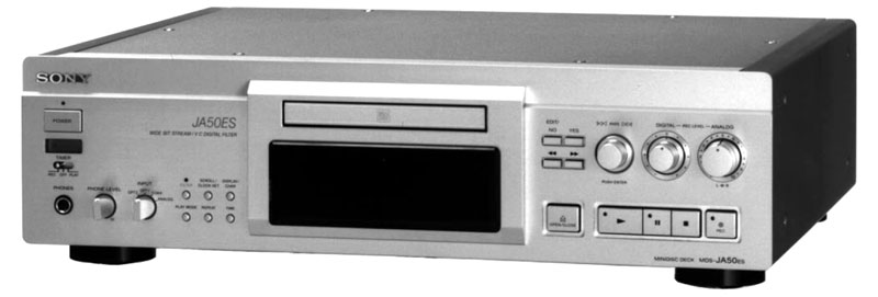 Sony MDS-JA50ES - Manual - Minidisc Recorder - HiFi Engine