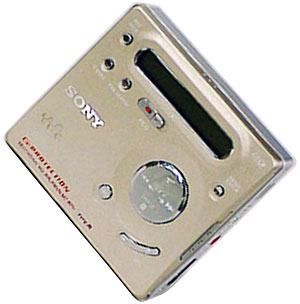 Pocket MiniDisc Player