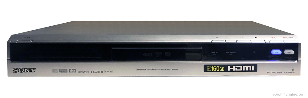 Sony Rdr-hx820 - Manual - Hdd  Dvd Recorder