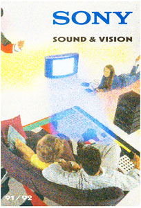 Sony Sound and Vision 1991-1992