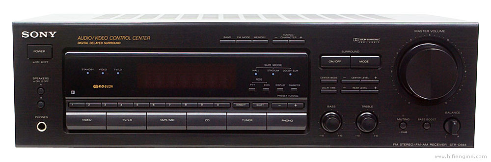 Sony Str D565 Manual Audio Video Receiver Hifi Engine