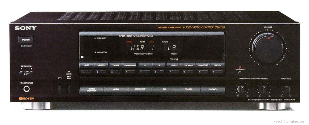 sony str gx311 manual am fm stereo receiver hifi engine rh hifiengine com sony str de197 stereo receiver manual Sony Home Stereo