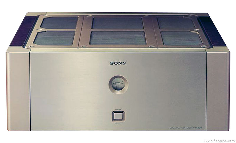 Sony Ta-nr1 - Manual - Monaural Power Amplifier