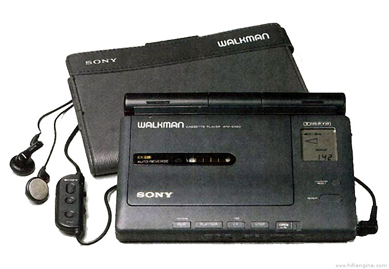sony walkman cassette player. sony wm-ex90 walkman cassette player