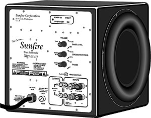 Sunfire True Subwoofer Signature